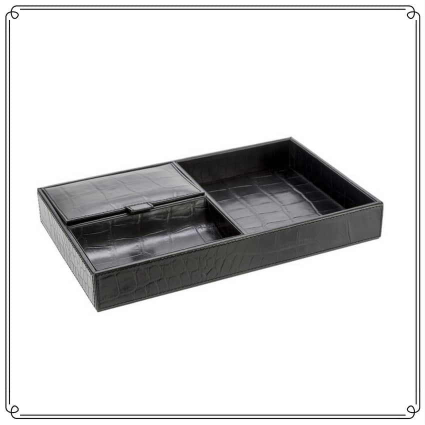 Leather Valet Tray The Gift Concierge